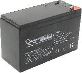 <b>Аккумулятор 12В, 7.5А×ч</b><br/>Передний вид
