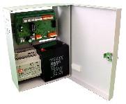 <b>«АСОТ1-СИ»</b><br/>Вид на исполнительный блок с открытой дверцей и аккумулятором