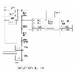 <b>«Барьер Корунд1ИМ»</b><br/>Схема выходных каскадов барьера Корунд-1ИМ