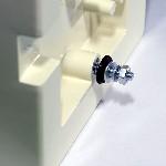<b>Защитный «Колпак IP44» из АБС-пластика для извещателей</b><br/>Порядок установки крепежа