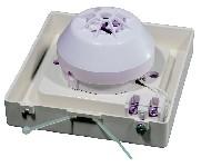 <b>Защитный «Колпак IP44» из АБС-пластика для извещателей</b><br/>«МАК-ДМ» пример