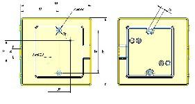 <b>Защитный «Колпак IP44» из АБС-пластика для извещателей</b><br/>Габаритные размеры
