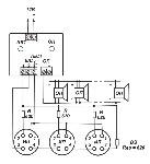 <b>Устройство сопряжения «ГОРН»</b><br/>Схема подключения устройства (где ИП – комбинированный извещатель «ИДТ2», ОП - комбинированный оповещатель «МАРС-12К»)