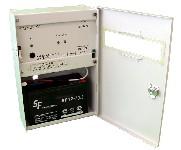 <b>ППКОП019-4-1 «Корунд2/4-СИ» исп.01 (1ШС, «Корунд-1ИМ»)</b><br/>Вид с открытой дверцей и аккумулятором