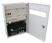 <b>ППКОП019-4-1 «Корунд2/4-СИ» исп.02 (2ШС)</b><br/>Вид с открытой дверцей и аккумулятором