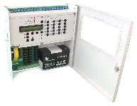 <b>ППКОП019-10/20-1 «Корунд20-СИ» (20ШС, RS-485)</b><br/>Вид со снятыми крышками и аккумулятором