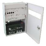 <b>ППКОП019-4-1 «Корунд2/4-СИ» исп.04 (4ШС)</b><br/>Вид с открытой дверцей и аккумулятором