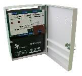 <b>ППКОП «Сигнал2/4-СИ» исп.02 (2ШС)</b><br/>Вид с открытой дверцей и аккумулятором
