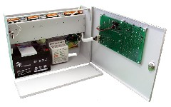 <b>ППКОП «Сигнал24-СИ» исп.01 (24ШС)</b><br/>Расположение модулей со снятой крышкой