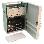<b>ППКОП «Сигнал2/4-СИ» исп.02 (2ШС, КЦЦ)</b><br/>Вид со снятой крышкой и аккумулятором