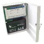 <b>ППКОП «Сигнал2/4-СИ» исп.04 (4ШС, КЦЦ)</b><br/>Вид с открытой дверцей и аккумулятором