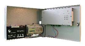 <b>СПИ «Сирень-СИ»</b><br/>Расположение внутренних модулей: аккумулятор, радиомодем, источник питания